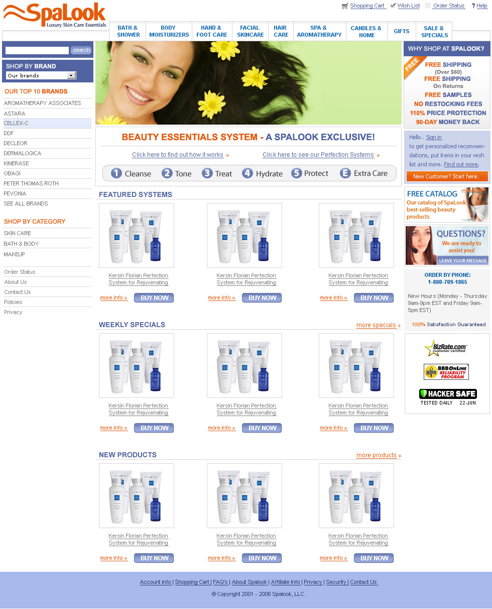 SpaLook-Online-Skincare-Store